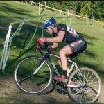 Cyclocross coach coach Aaron Oakes races. Get Faster Wenzel Coaching