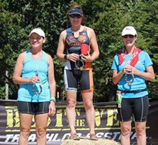 Giovanna Grosenlicht wins her age group at the Best of the West Olympic Distance Triathlon - Get Faster - Wenzel Coaching