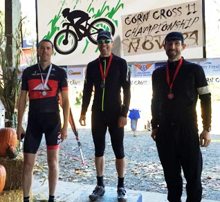 Wenzel Coaching Athlete Eric Cress atop the podium at the 2015 OBRA Championship