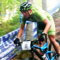 Wenzel Coaching athlete Andrew Bobb descends during the Men's A Short Track Race at the Boston Rebellion MTB 2016
