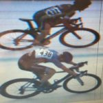 Wenzel Coaching client Micheal Frennet throws his bike across the line in a win at the Florida State Criterium Championships 2016