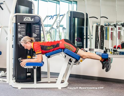 Leg Curl Exercise. Neutral start position, by Wenzel Coaching