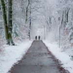 cyclists staying healthy in winter