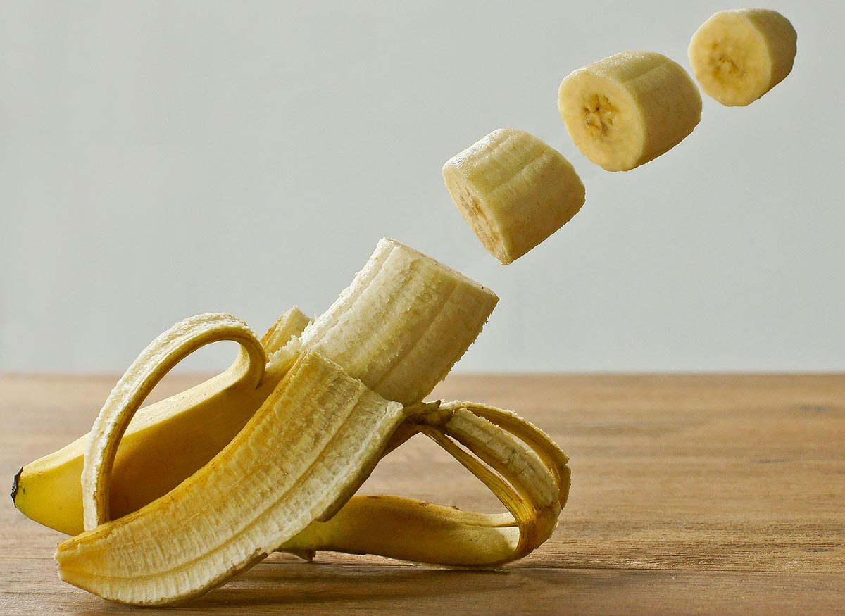 bananas for during training