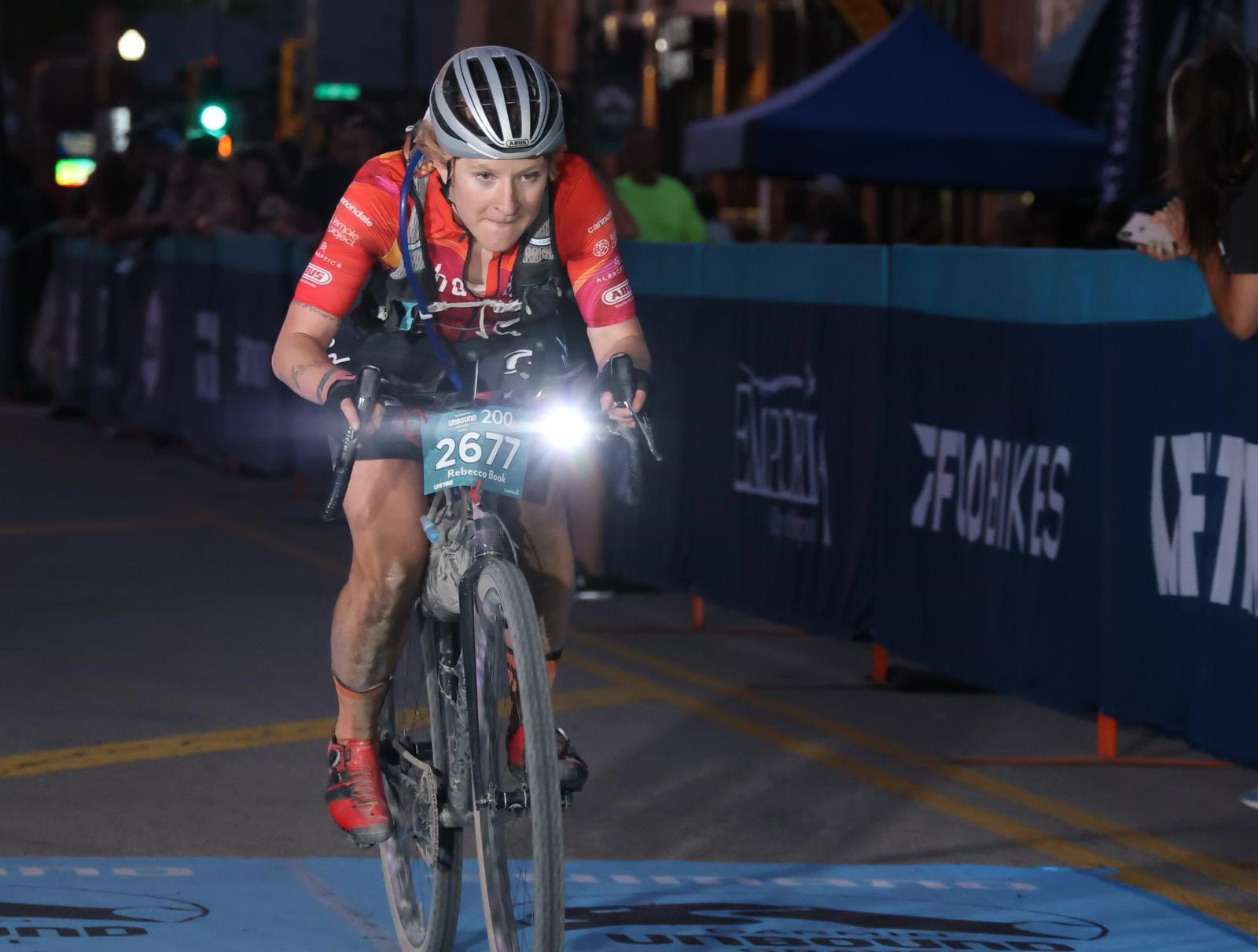 A Look Back at Becca Book's Win at the 200-Mile Unbound Gravel, Women's Single Speed Race